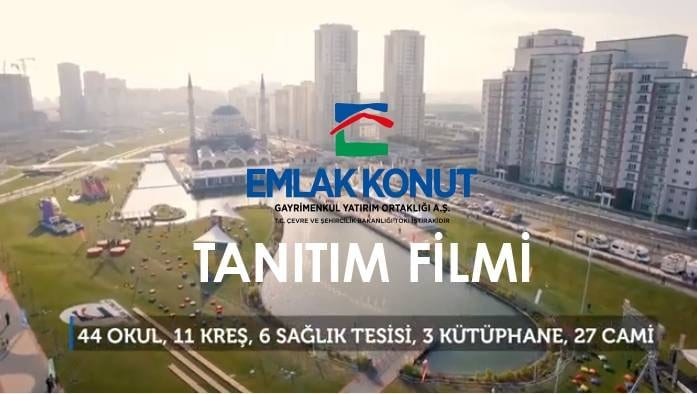 Emlak Konut GYO kurumsal tanıtım filmi
