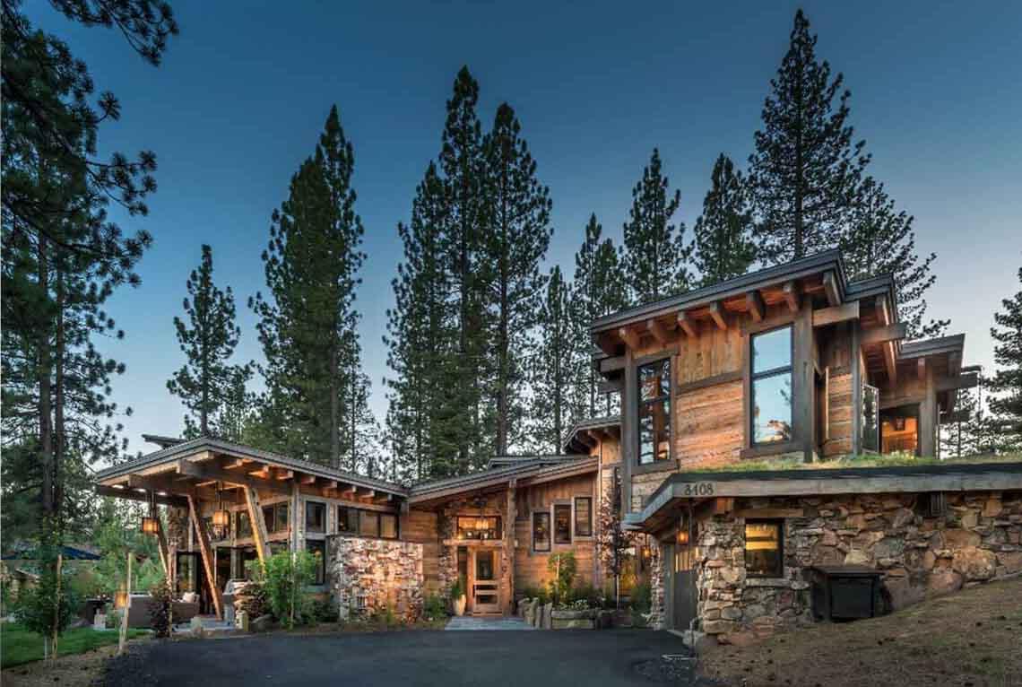 En güzel taş evler