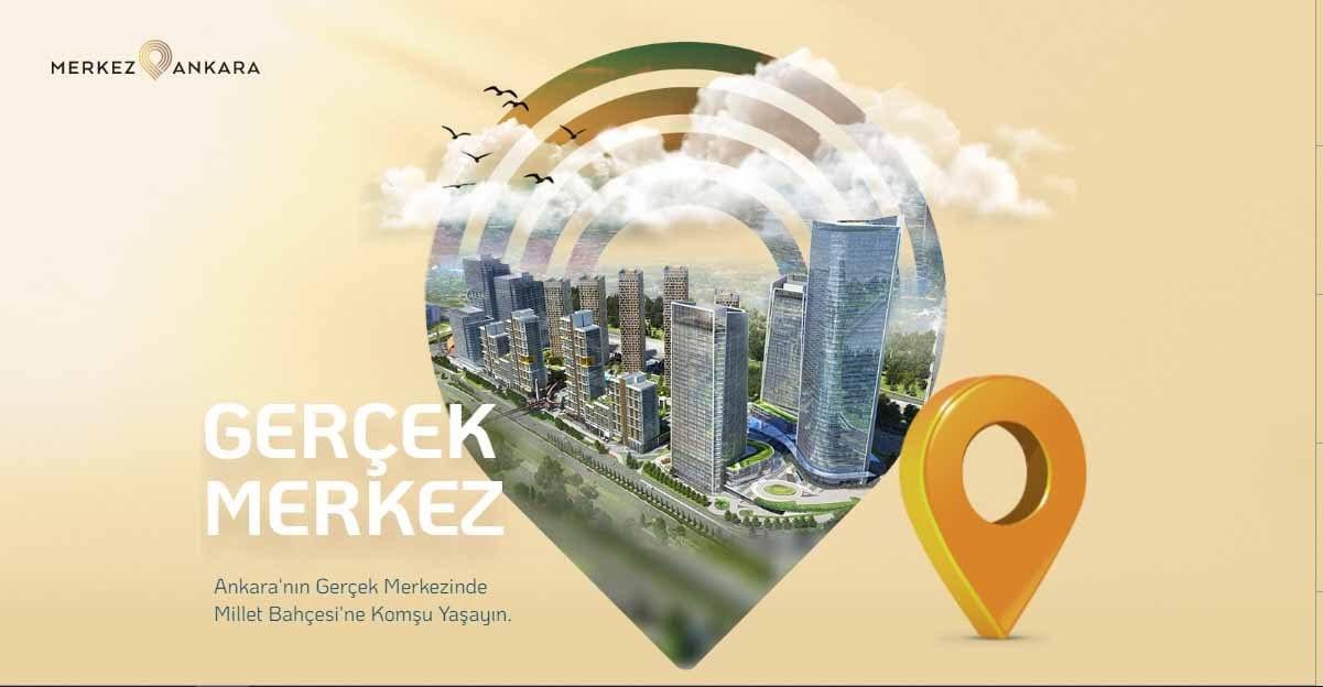 Merkez Ankara Projesi ile Ankara'nın En Büyük Bahçesine Komşu Olun!