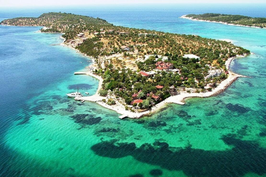 Kalem Adası, 400 milyon TL'ye satışa çıkarıldı.