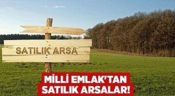 Adana Çukurova'da Milli Emlaktan Satılık Arsalar