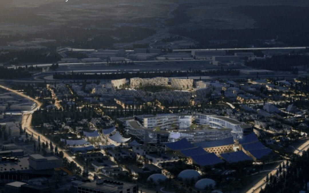 Toyota Geleceğin şehri 'ni tasarlıyor