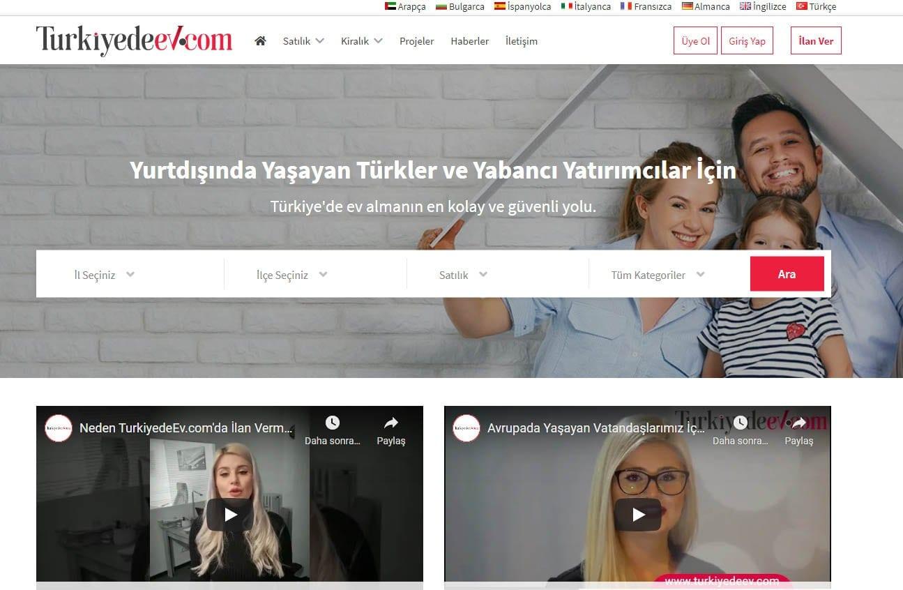 Turkiyedeev.com ile Avrupa pazarına açılın.