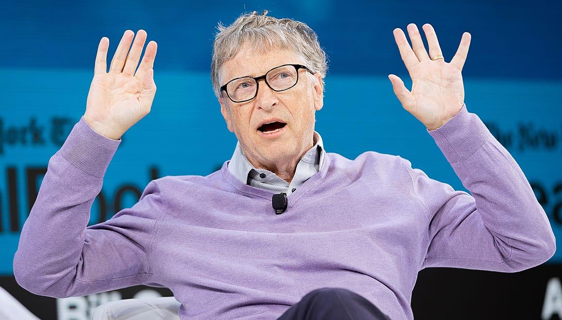 Bill Gates, kripto para değil, Trakya'da tarla topluyor