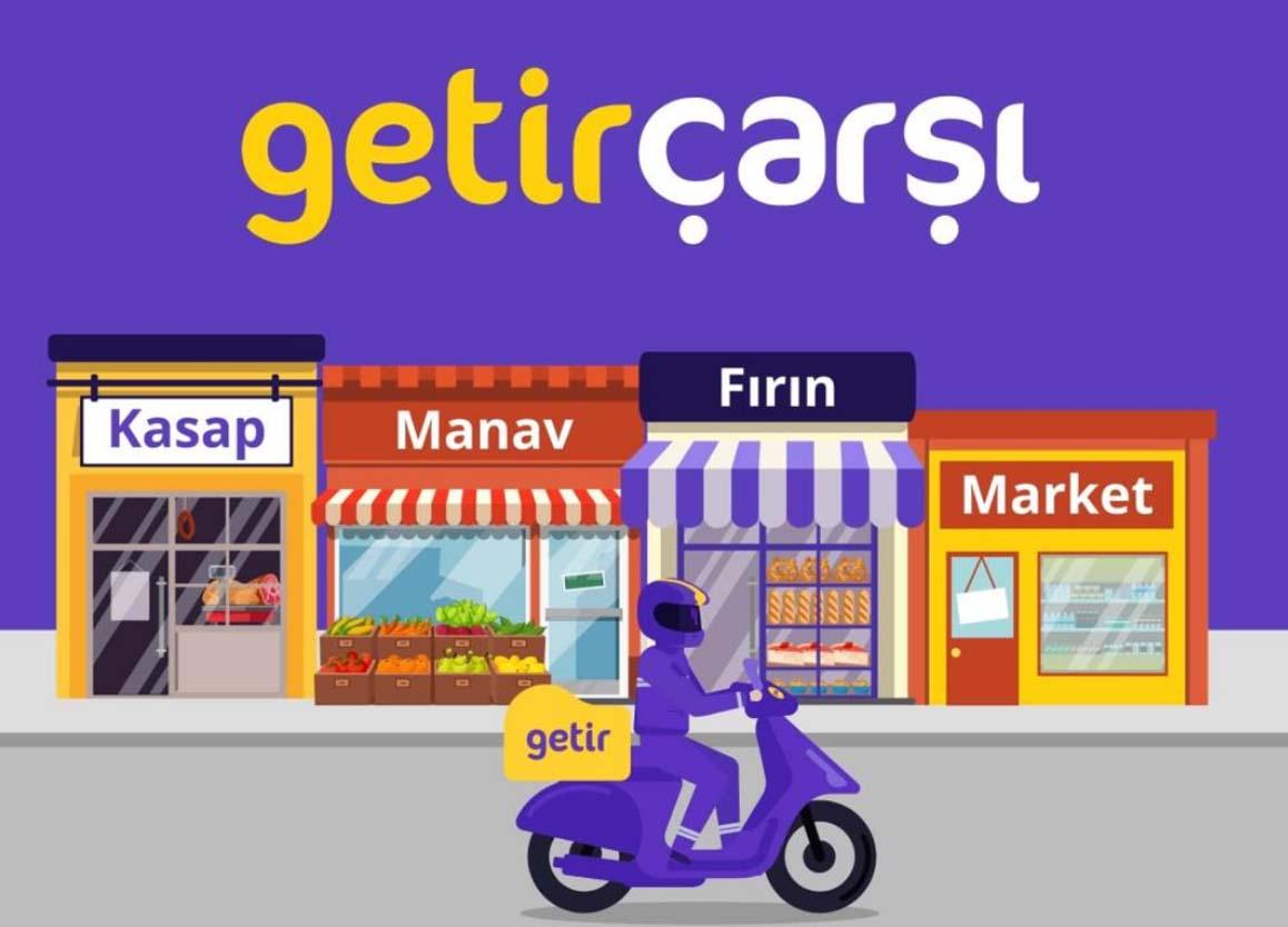 Getir Çarşı'yla mahalle esnafından alışveriş yapabileceksiniz