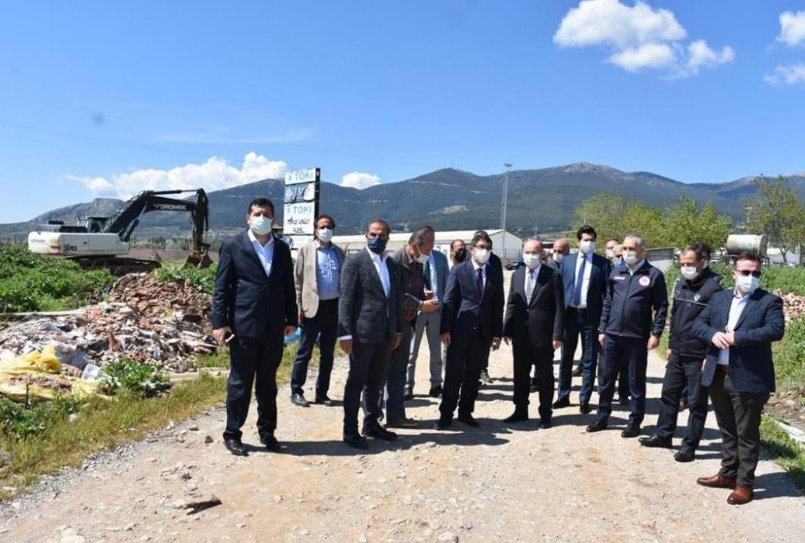 Sancaklıbozköy TOKİ konutları başlıyor