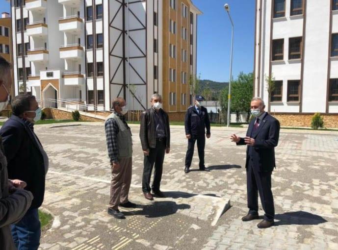 Taşova 1. etap TOKİ projesinde anahtar teslim töreni gerçekleştirildi.